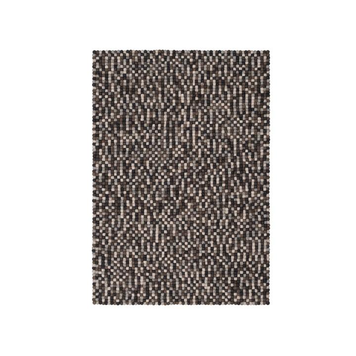 Néla felt ball carpet 90 x 130 cm by myfelt