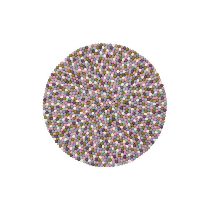 Greta felt ball carpet Ø 70 cm from myfelt