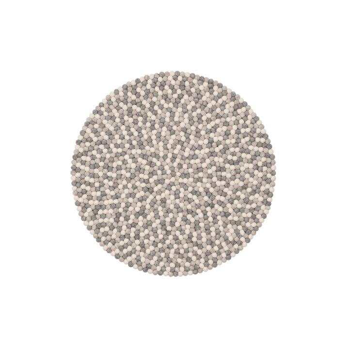 Hella felt ball carpet Ø 70 cm from myfelt