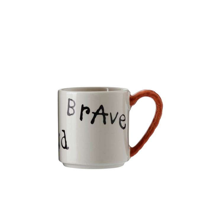 Pippi anniversary cup 20 cl, Strong Kind Brave from Design House Stockholm