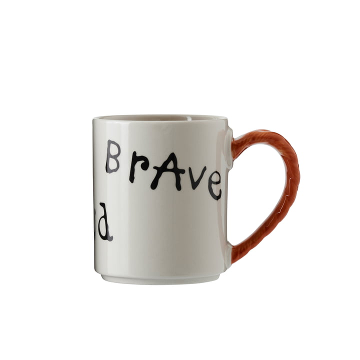 Pippi anniversary cup 35 cl, Strong Kind Brave from Design House Stockholm