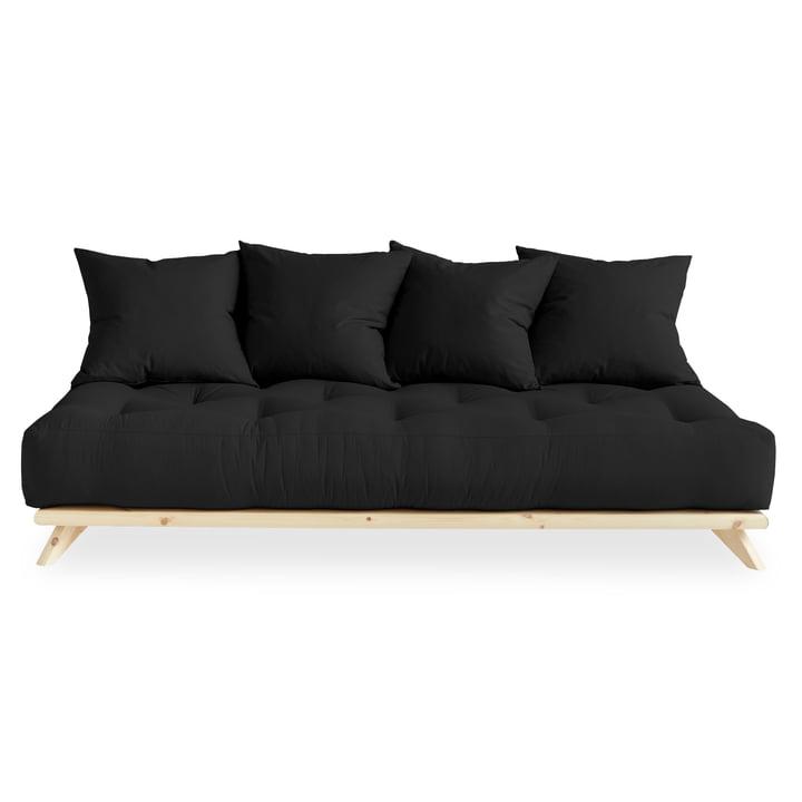 Senza Sofa from Karup Design in natural pine / dark grey