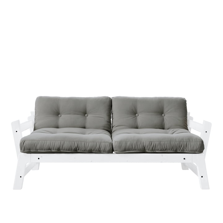 Step Sofa from Karup Design in pine white / grey