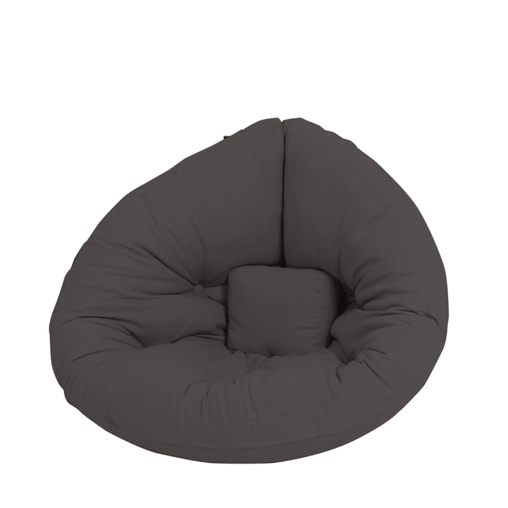 Nido Mini Folding chair from Karup Design in dark grey