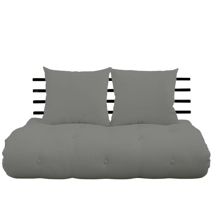 Shin Sano Sofa from Karup Design in pine black / grey