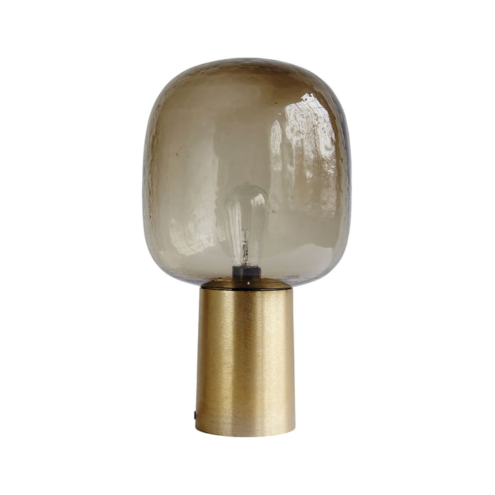 Note Table lamp Ø 28 x H 52 cm from House Doctor in grey / brass