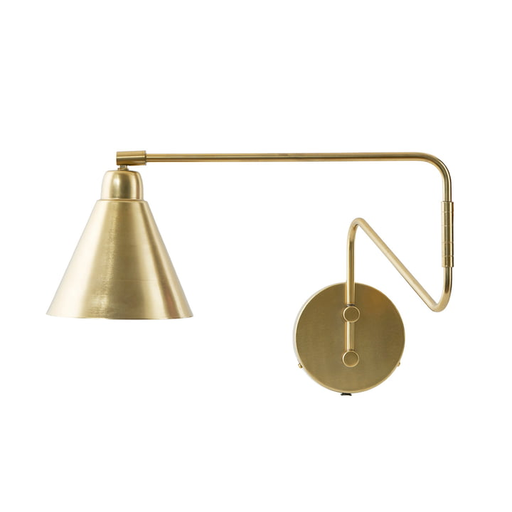 Game Wall lamp L 70 cm from House Doctor in brass