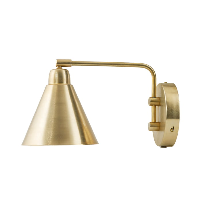 Game Wall lamp L 30 cm from House Doctor in brass