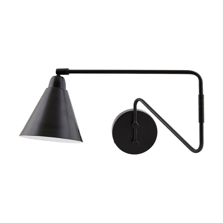 Game Wall lamp L 70 cm from House Doctor in black