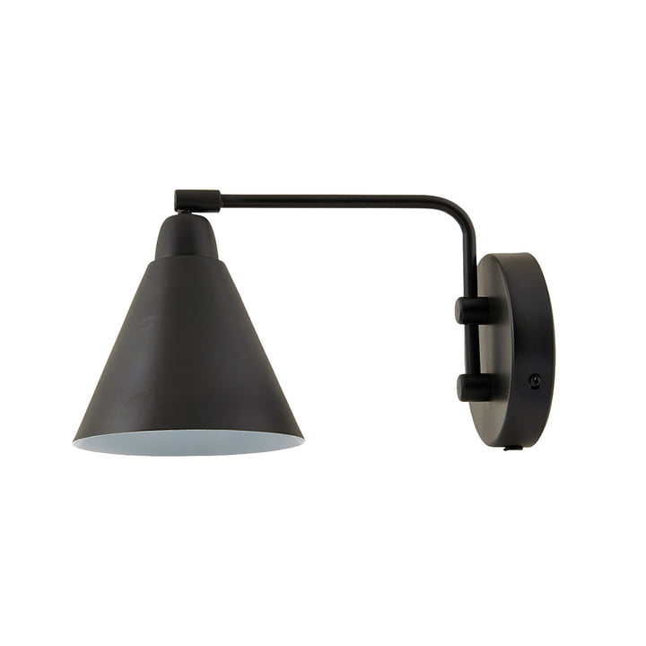 Game Wall lamp L 30 cm from House Doctor in black