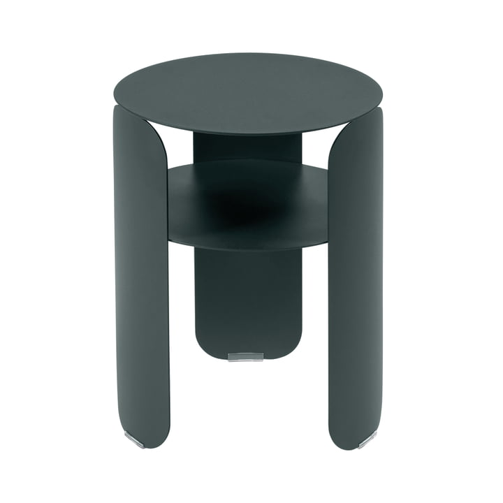Bebop side table Ø 35 cm, storm gray by Fermob