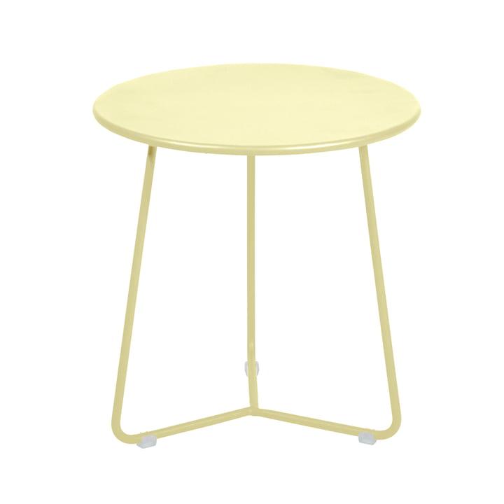 Cocotte Side table / stool, Ø 34 cm x H 36 cm, lemon sorbet by Fermob