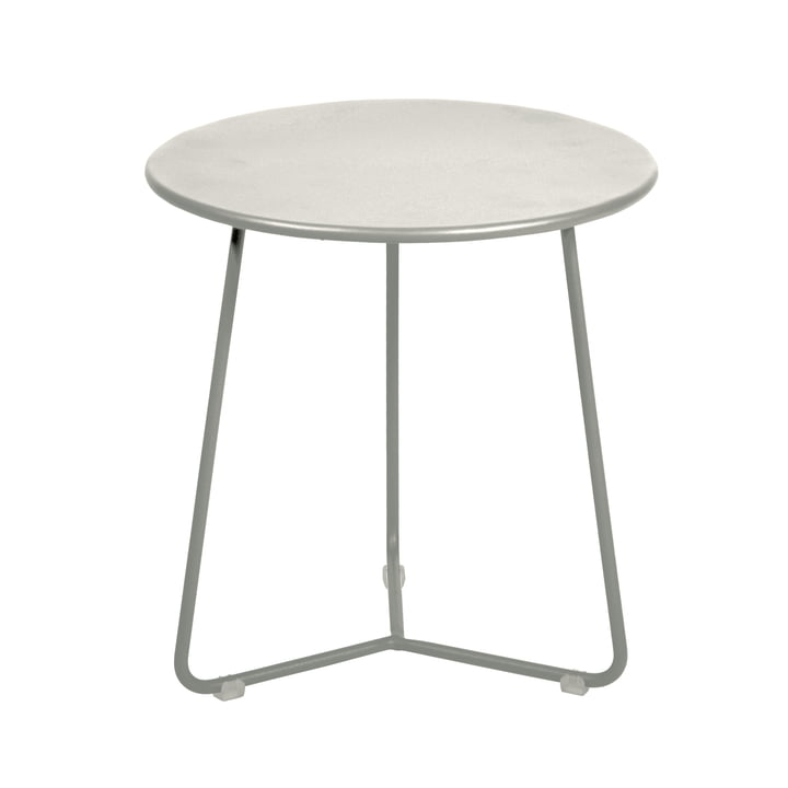 Cocotte Side table / stool, Ø 34 cm x H 36 cm, clay grey by Fermob