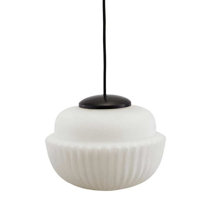 Acorn pendant lamp Ø 29 x H 21,5 cm from House Doctor in white