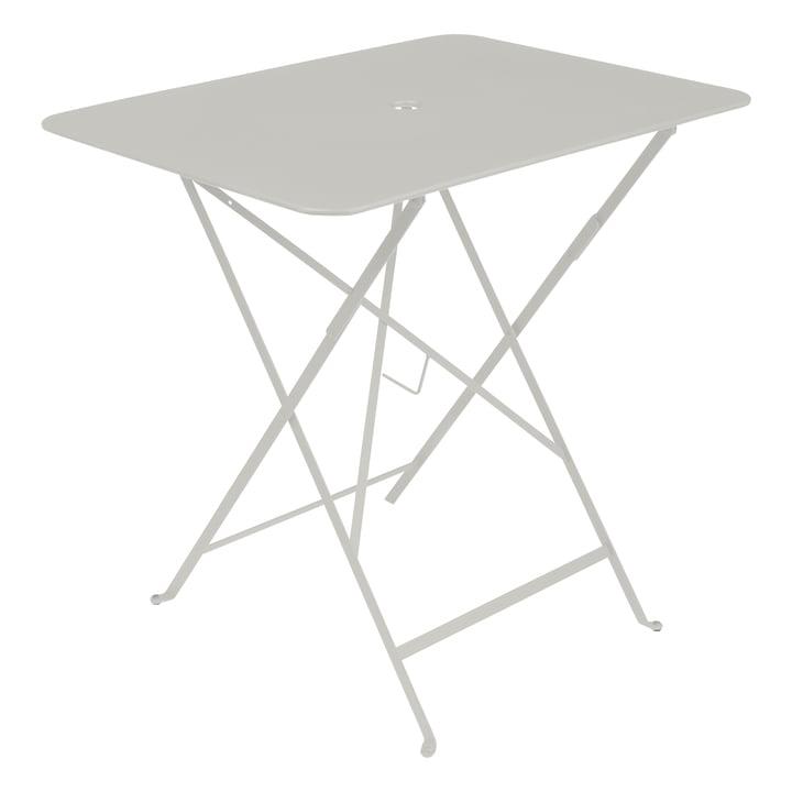 Bistro Folding table, rectangular, 77 x 57 cm, clay grey by Fermob
