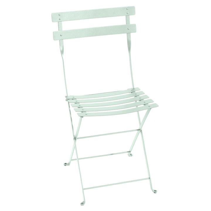 Bistro Folding chair metal, glacier mint by Fermob