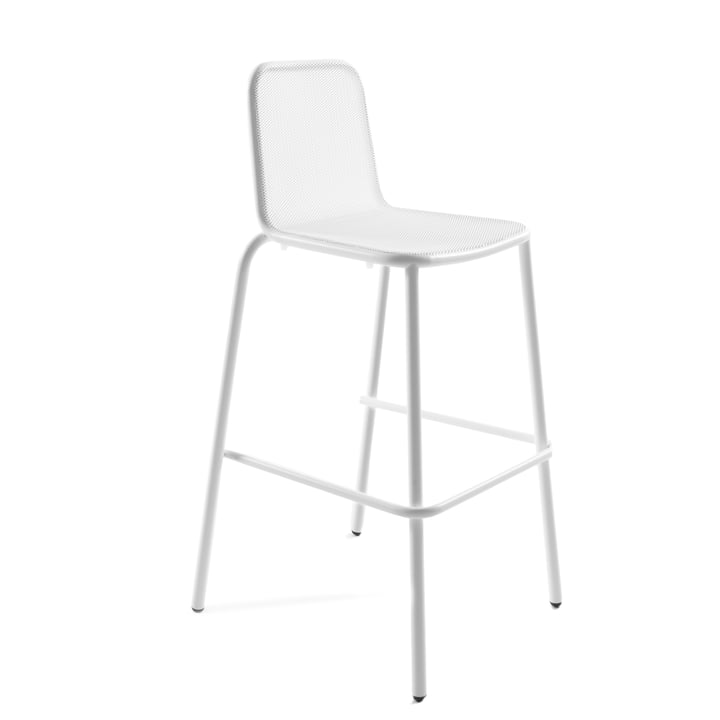 Nice bar stool, white by Conmoto