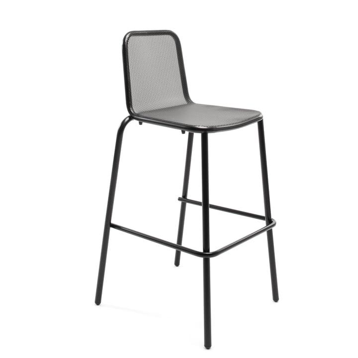 Nice bar stool, black by Conmoto