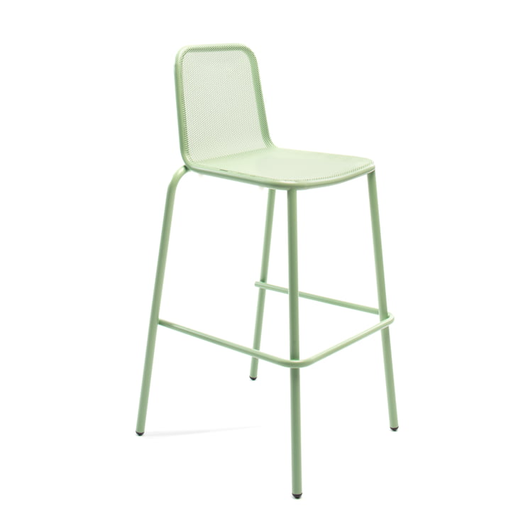 Nice bar stool, pale green by Conmoto