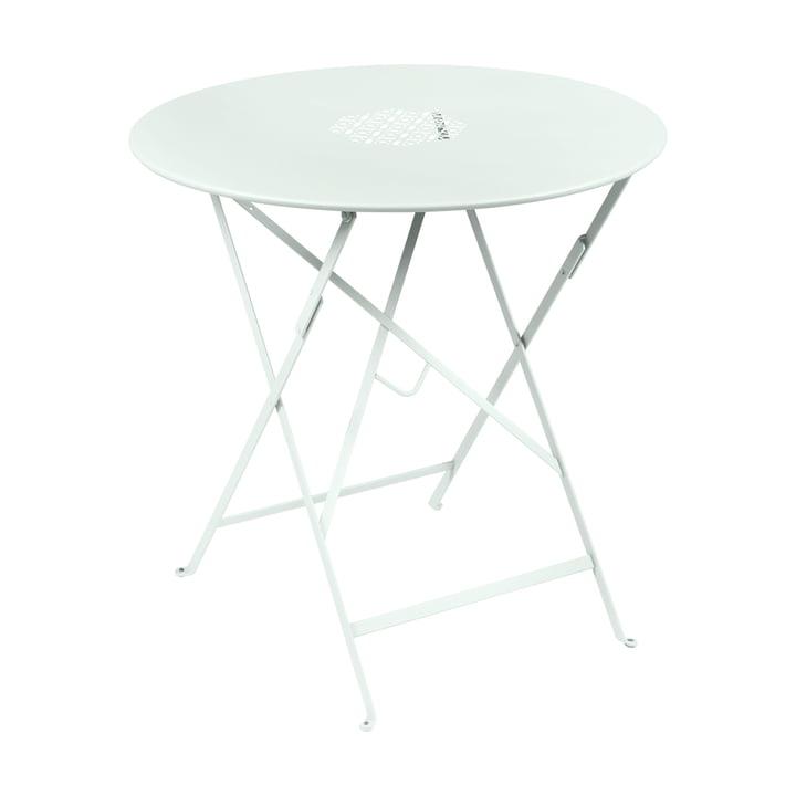 Lorette folding table Ø 77 cm, glacier mint by Fermob