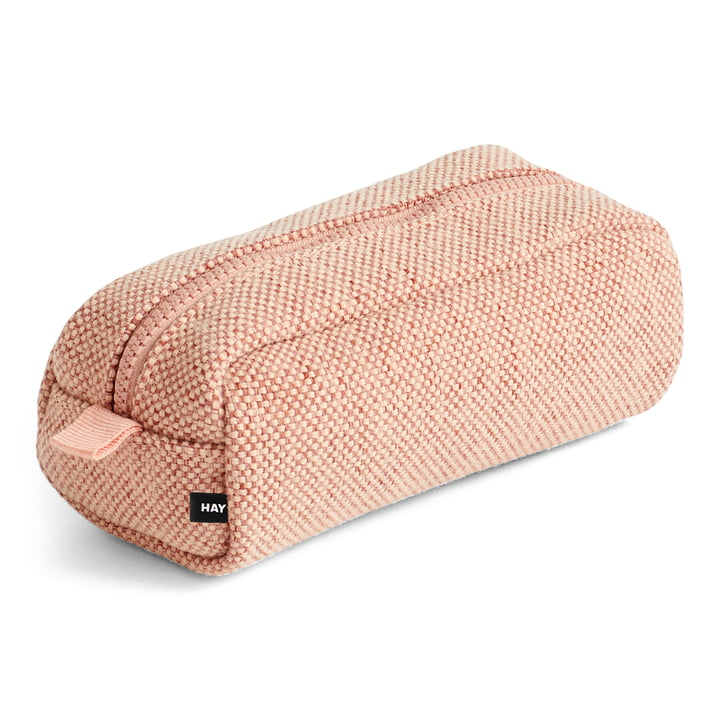 Hue cosmetic bag, soft pink by Hay