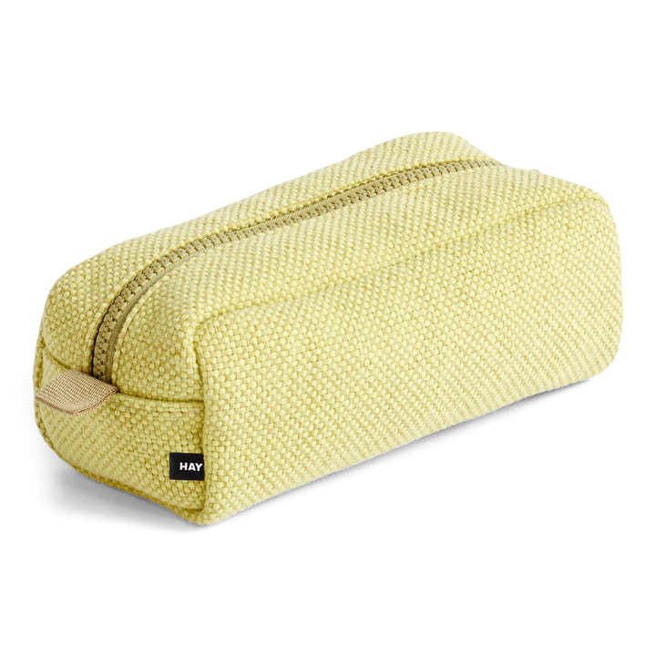 Hue cosmetic bag, yellow from Hay