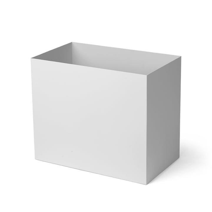 Container for Plant Box large, light grey by ferm Living