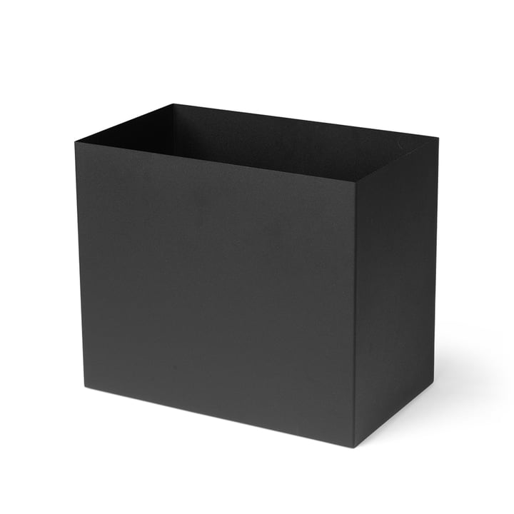 Container for Plant Box large, black by ferm Living