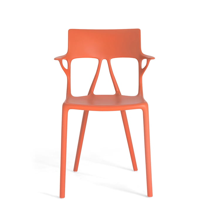 AI chair by Kartell in orange