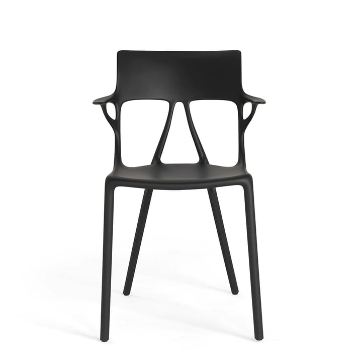AI chair by Kartell in black