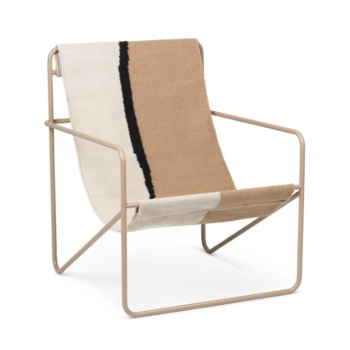 Desert Chair, cashmere / floor by ferm Living