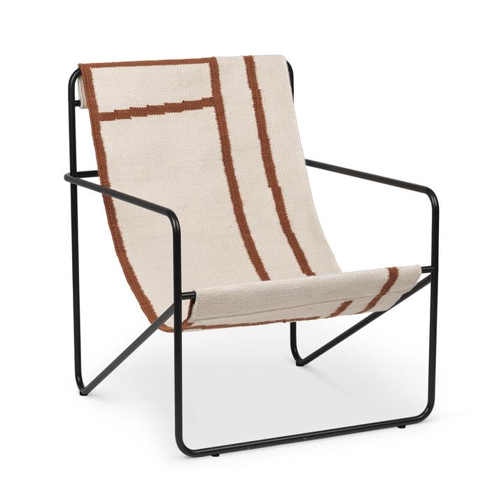 Desert Chair, black / shape by ferm Living