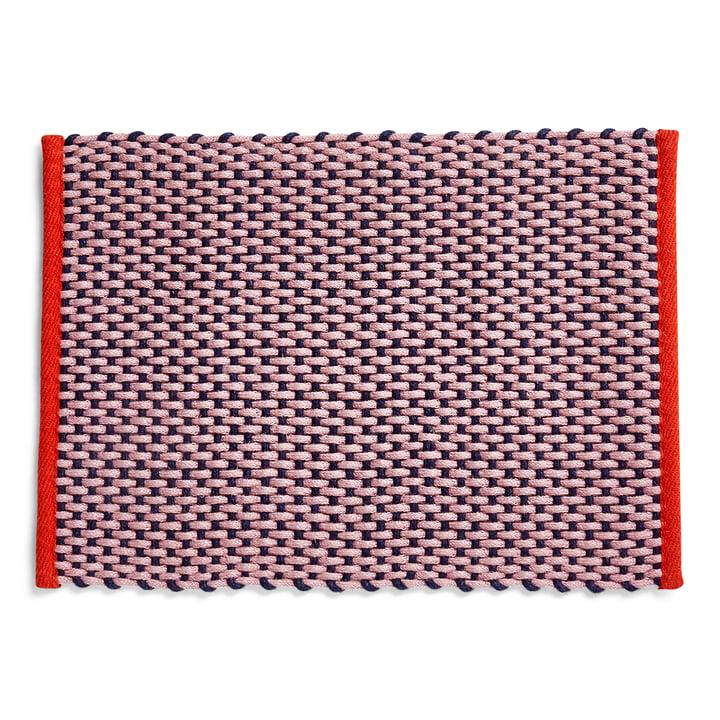 Doormat, 50 x 70 cm, pink from Hay