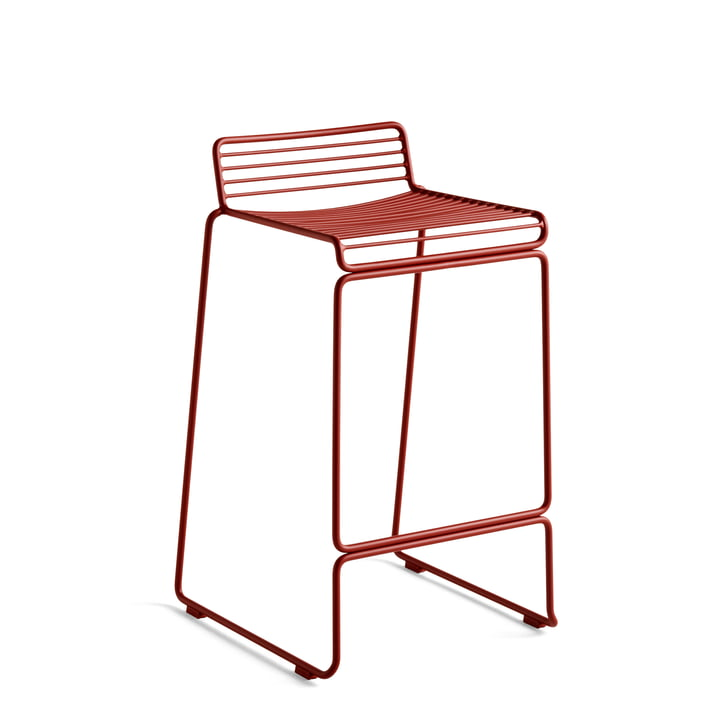 Hee Barstool low, rust from Hay
