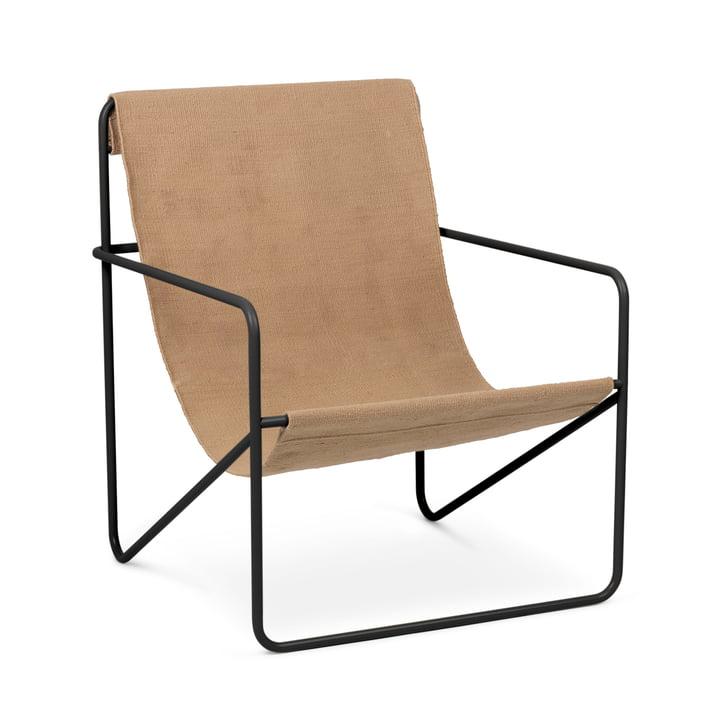 Desert Chair, black / solid by ferm Living