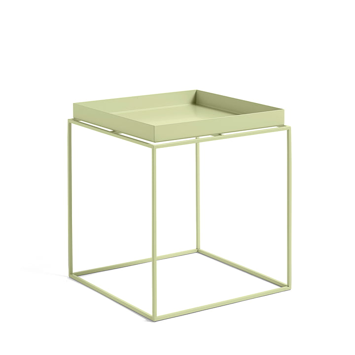 Tray Table 40 x 40 cm, soft yellow from Hay