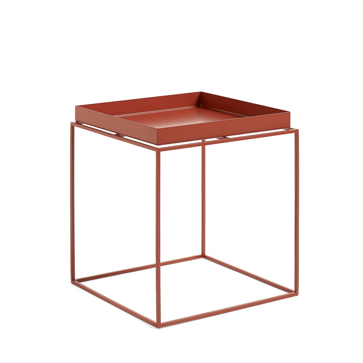 Tray Table 40 x 40 cm, red from Hay