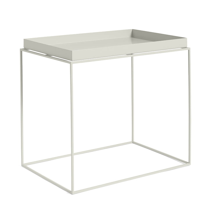 Tray Table 60 x 40 cm, warm grey from Hay