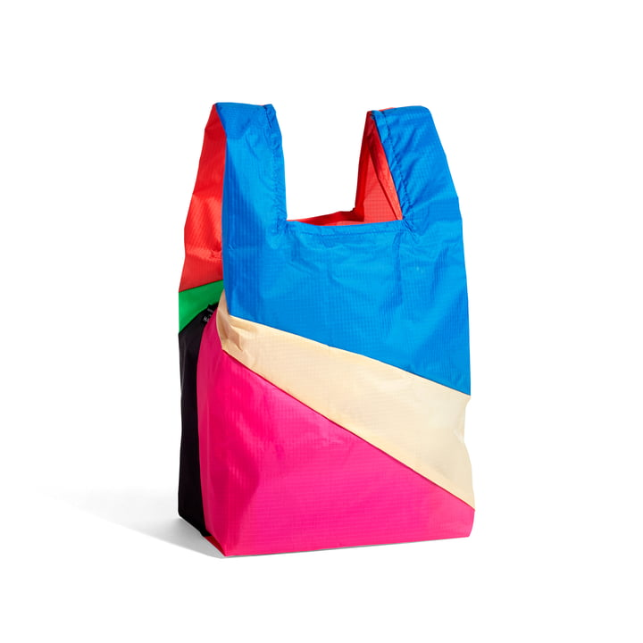 Six-Colour Bag M, 27 x 55 cm, No. 6 of Hay