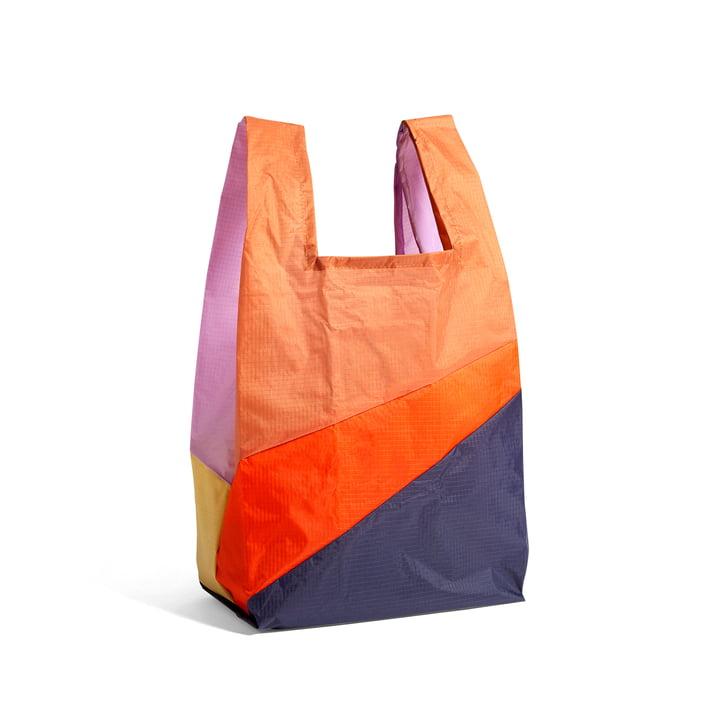 Six-Colour Bag M, 27 x 55 cm, No. 4 of Hay