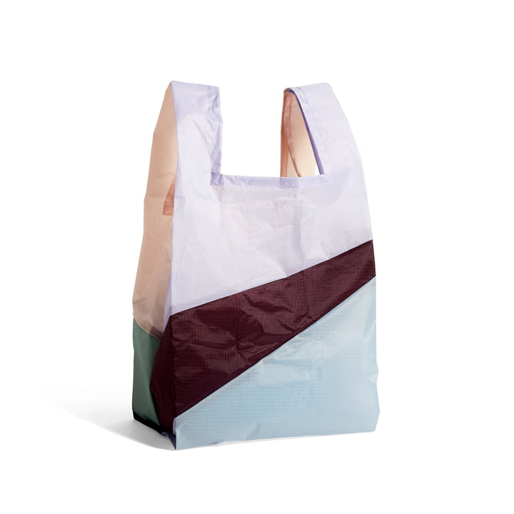 Six-Colour Bag M, 27 x 55 cm, No. 2 of Hay