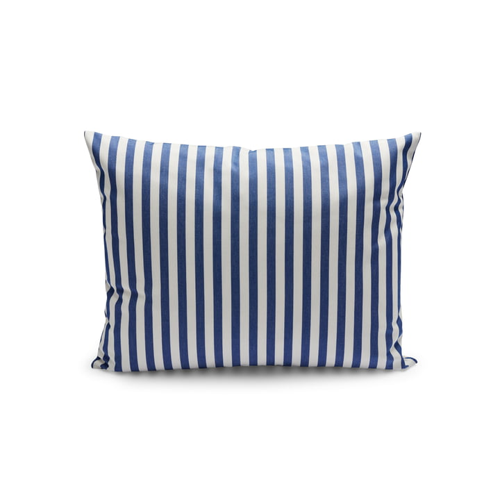 Barriere Cushion 50 x 40 cm from Skagerak in sea blue striped (Limited Edition)