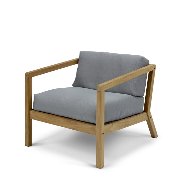 Virkelyst Armchair from Skagerak in teak / ash