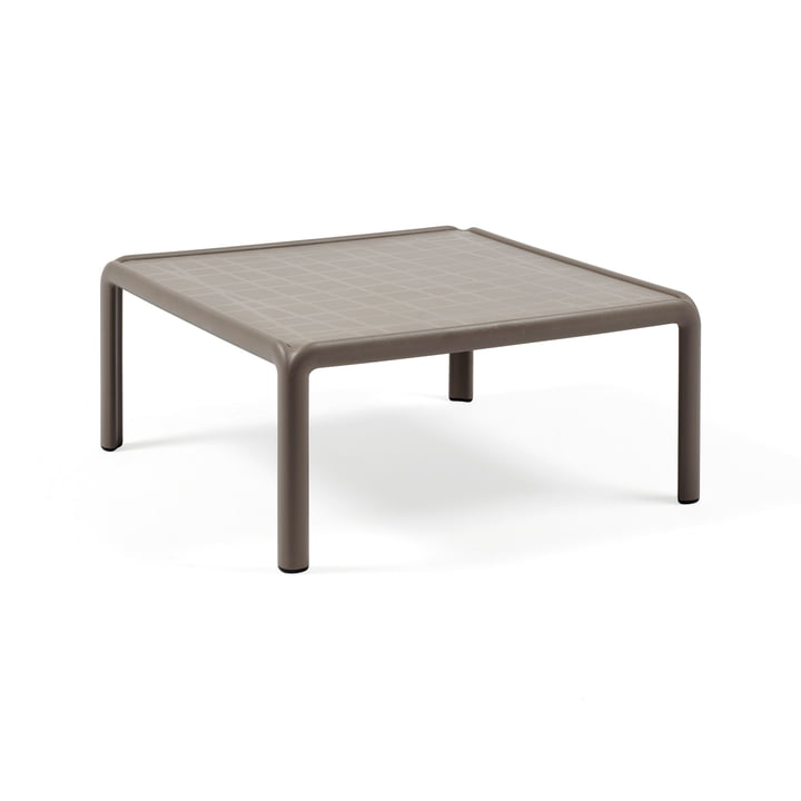 Komodo Garden table 70 x 70 cm, tortora by Nardi