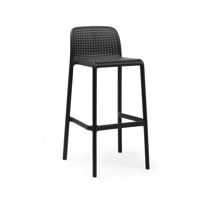 Lido Bar chair, anthracite by Nardi