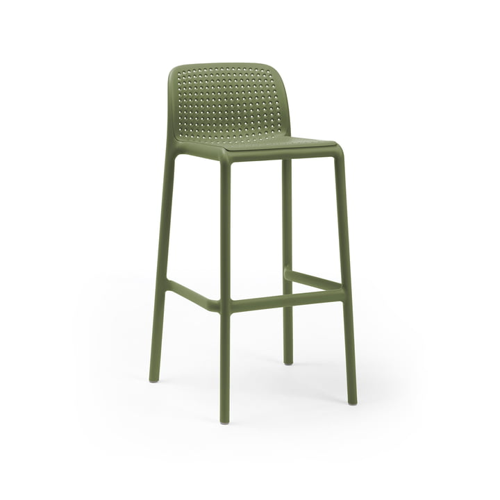 Lido Bar chair, agave by Nardi