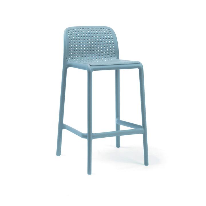 Lido Mini bar chair, celeste from Nardi