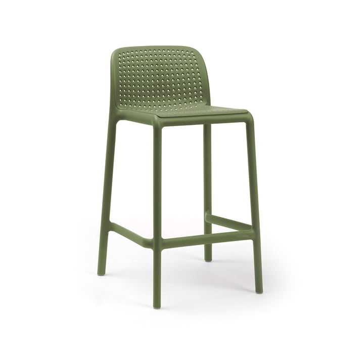 Lido Mini bar chair, agave by Nardi