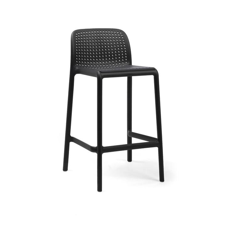 Lido Mini bar chair, anthracite by Nardi
