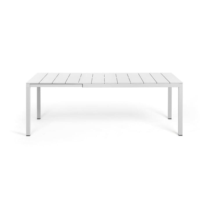 Rio Alu Extending table 140, white from Nardi